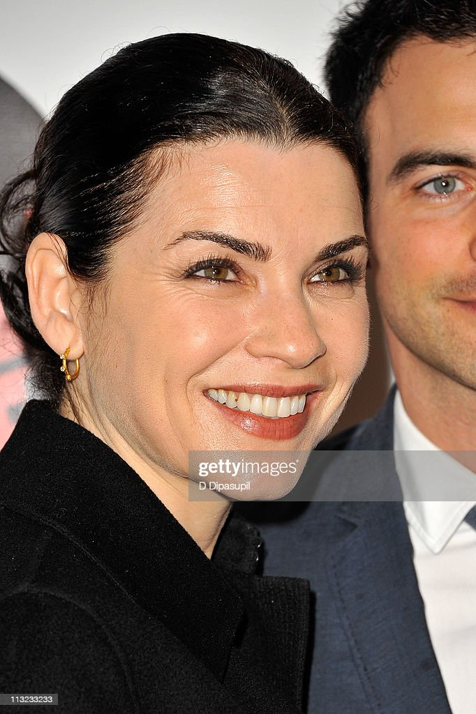 Julianna Margulies attends the Broadway opening night of 'The Normal Heart' at The Golden Theatre on April 27, 2011 in New York City.