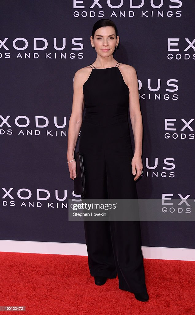 <a gi-track='captionPersonalityLinkClicked' href=/galleries/search?phrase=Julianna+Margulies&family=editorial&specificpeople=208994 ng-click='$event.stopPropagation()'>Julianna Margulies</a> attends the 'Exodus: Gods And Kings' New York premiere at the Brooklyn Museum on December 7, 2014 in New York City.