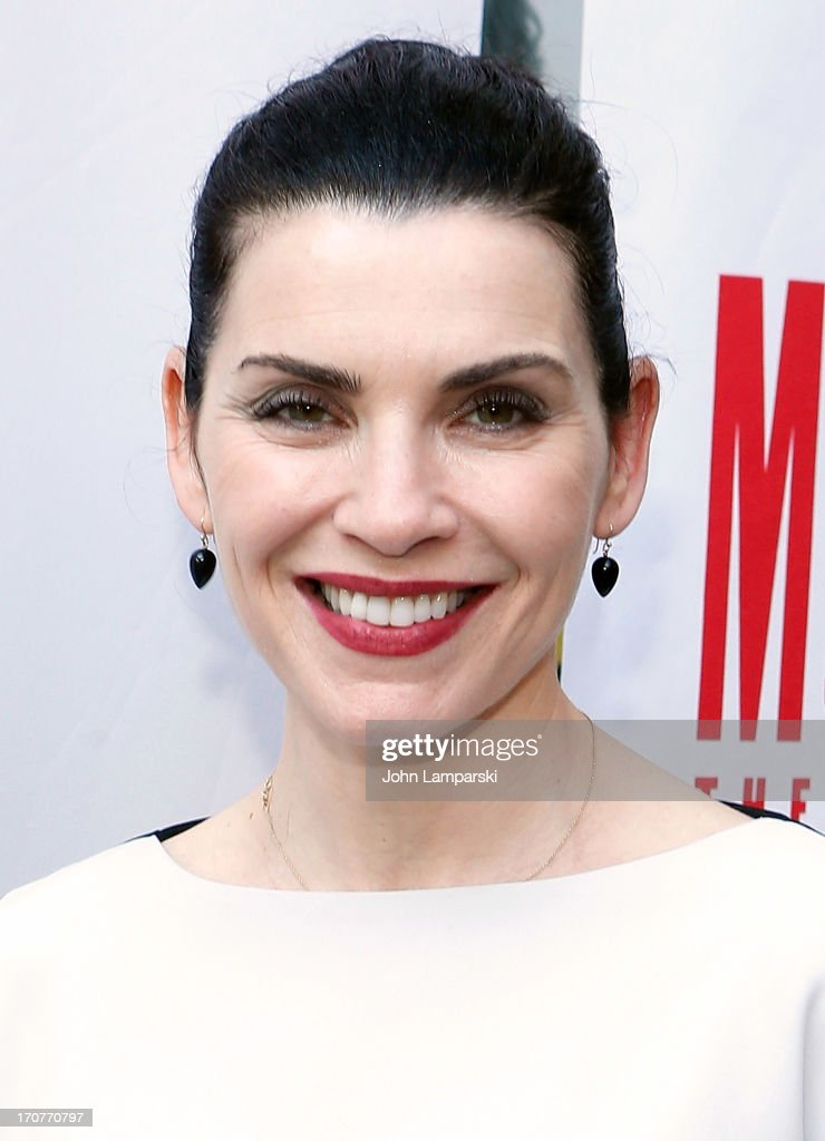 Julianna Margulies attends 'The Mercy Seat' Benefit Reading at Lucille Lortel Theatre on June 17 2013 in New York City