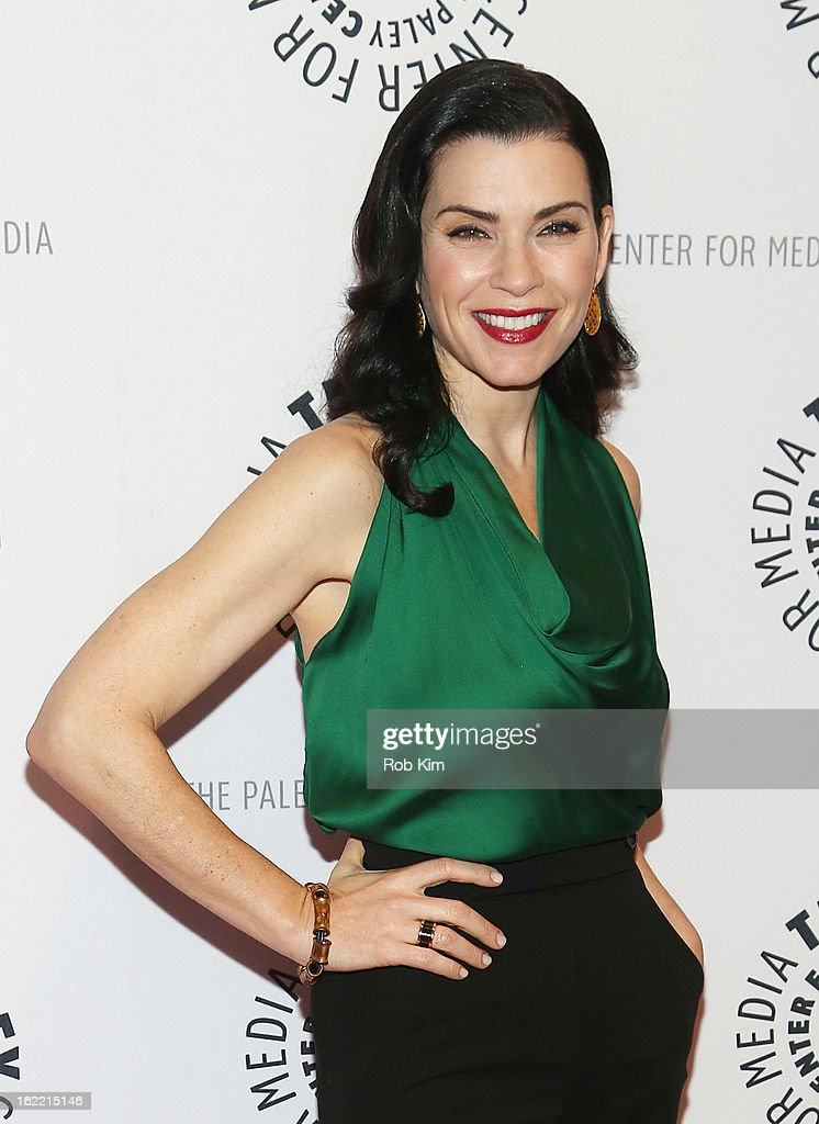 Julianna Margulies attends The Paley Center For Media Presents: 'She's Making Media: Julianna Margulies' at The Paley Center for Media on February 20, 2013 in New York City.