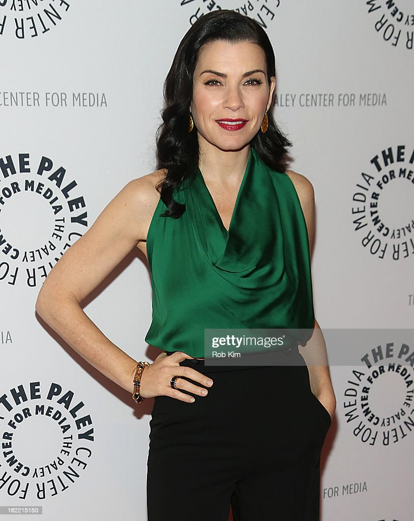<a gi-track='captionPersonalityLinkClicked' href=/galleries/search?phrase=Julianna+Margulies&family=editorial&specificpeople=208994 ng-click='$event.stopPropagation()'>Julianna Margulies</a> attends The Paley Center For Media Presents: 'She's Making Media: <a gi-track='captionPersonalityLinkClicked' href=/galleries/search?phrase=Julianna+Margulies&family=editorial&specificpeople=208994 ng-click='$event.stopPropagation()'>Julianna Margulies</a>' at The Paley Center for Media on February 20, 2013 in New York City.