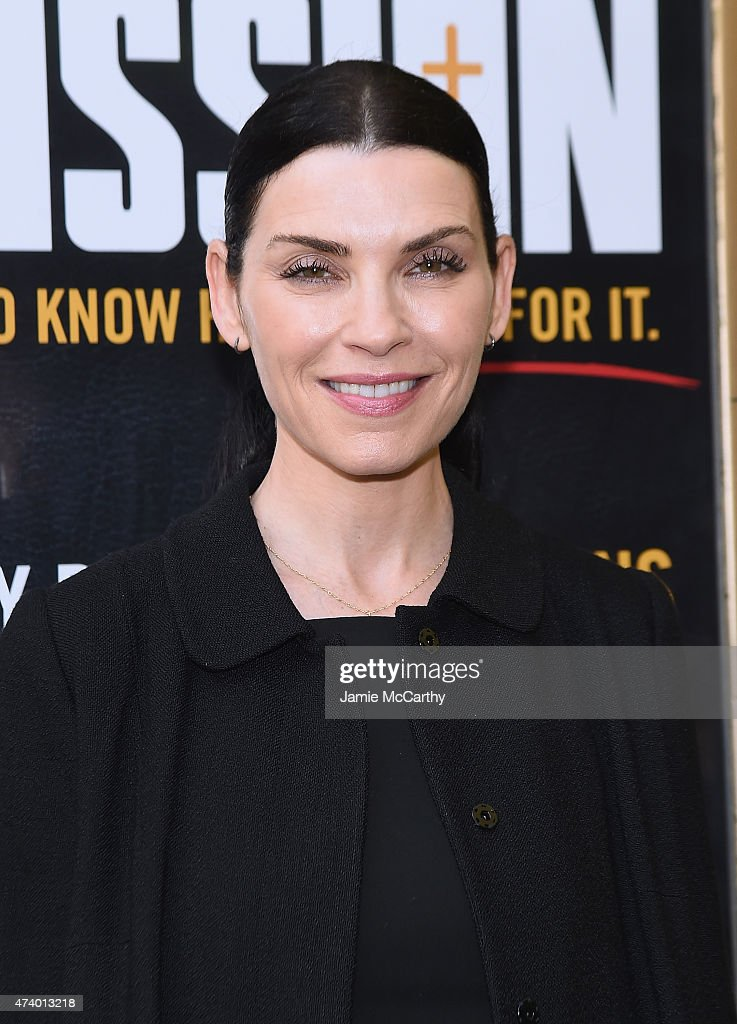 Julianna Margulies attends the 'Permission' Opening Night at Lucille Lortel Theatre on May 19 2015 in New York City