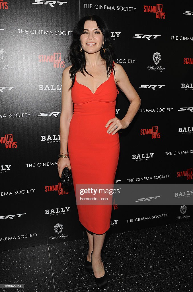 Julianna Margulies attends the premiere of 'Stand Up Guys' hosted by The Cinema Society with Chrysler and Bally at MOMA on December 9, 2012 in New York City.