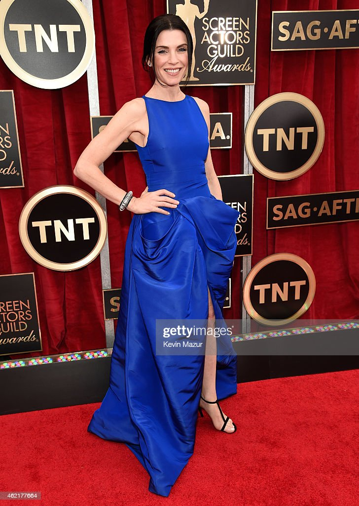 Julianna Margulies attends TNT's 21st Annual Screen Actors Guild Awards at The Shrine Auditorium on January 25 2015 in Los Angeles California...