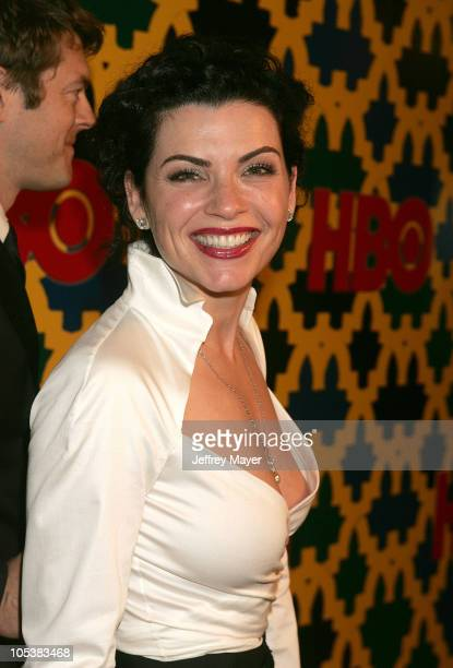 Julianna Margulies during HBO Post Award Reception Celebrating The 62nd Annual Golden Globe Awards Arrivals at Griff's Restaurant in Beverly Hills...