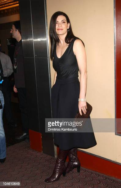Julianna Margulies during 'The Man From Elysian Fields' Premiere New York at The Village East Theatre in New York City New York United States