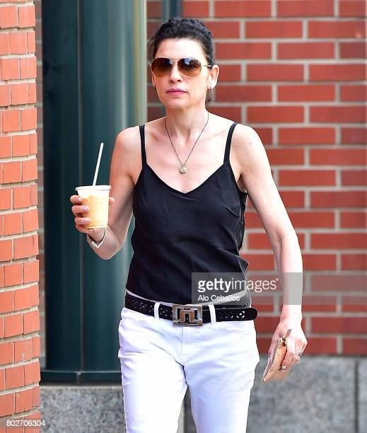 Julianna Margulies is seen in Soho on June 28 2017 in New York City