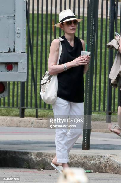 Julianna Margulies is seen on June 13 2017 in New York City