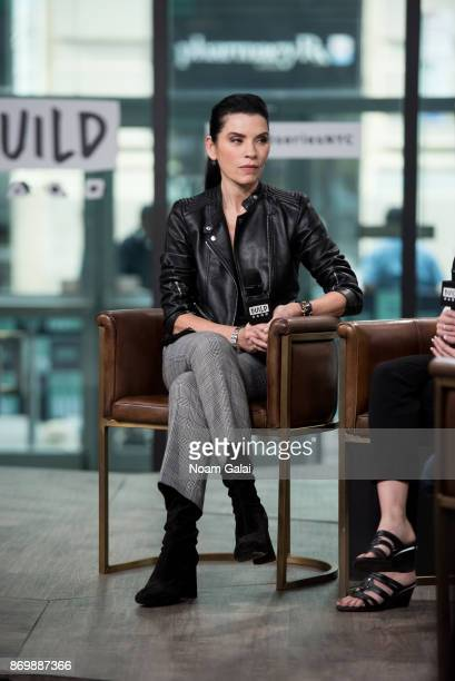 Julianna Margulies visits Build Series to discuss Erin's Law at Build Studio on November 3 2017 in New York City