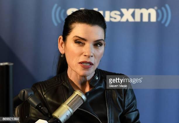 Julianna Margulies visits EW at SiriusXM Studios on November 3 2017 in New York City