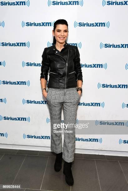 Julianna Margulies visits SiriusXM Studios on November 3 2017 in New York City