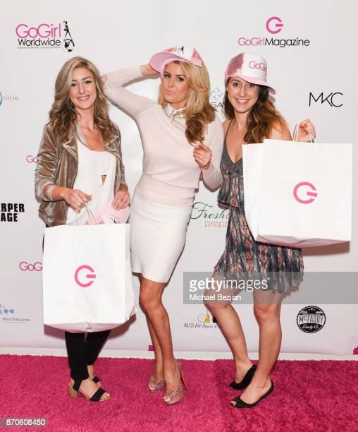 Julianna Murphy GoGirl founder Jennifer Murphy and JoAnn Murphy at GoGirl Experience 2017 on November 5 2017 in Newport Beach California