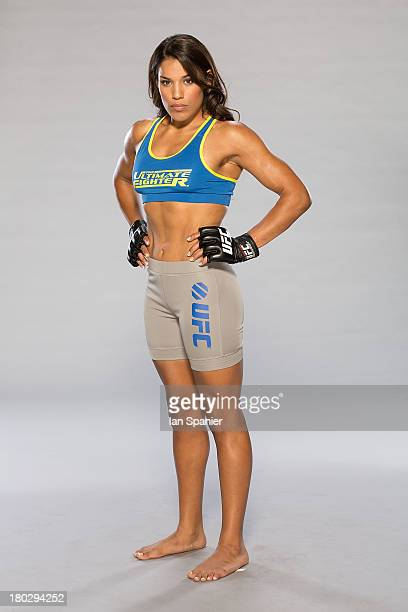 Julianna Pena poses for a portrait on May 31 2013 in Las Vegas Nevada
