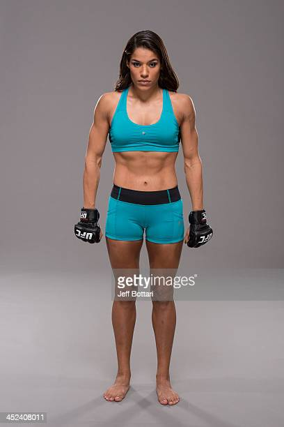 Julianna Pena poses for a portrait on November 27 2013 in Las Vegas Nevada