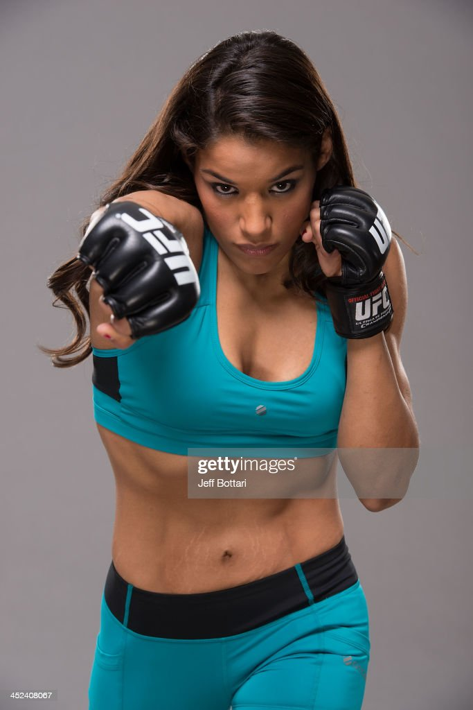 Julianna Pena poses for a portrait on November 27, 2013 in Las Vegas, Nevada.