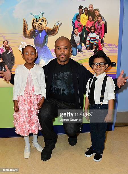 Julianna Pierre Darryl McDaniels and Malik Naser attend the Garden of Dreams Foundation And New YorkPresbyterian/Morgan Stanley Children's Hospital...