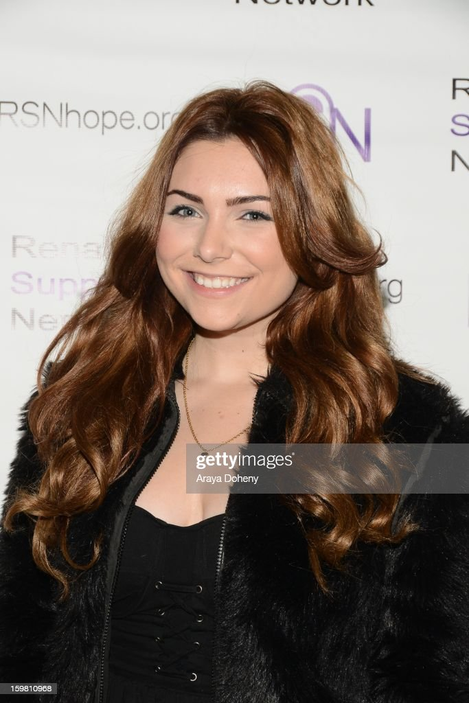Julianna Rose arrives at the Renal Support Network hosts 14TH Annual Renal Teen Prom featuring special guest star, Jack ?Black event at Notre Dame High School on January 20, 2013 in Sherman Oaks, California.
