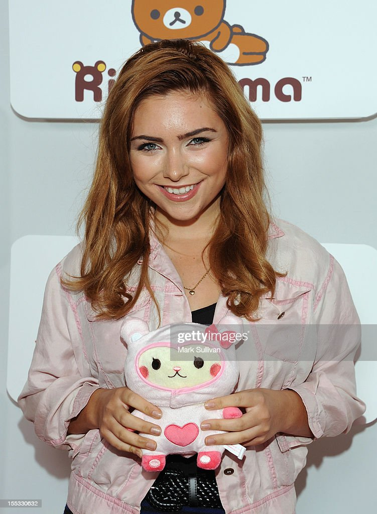 Julianna Rose attends Rilakkuma & Space Hamsters at The Mark for Events on November 2, 2012 in Los Angeles, California.