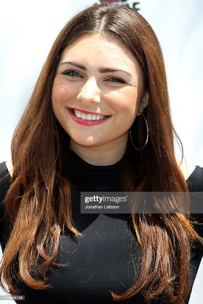 Julianna Rose attends the Red Carpet Events LA Teen Choice Style Lounge on August 8, 2013 in Beverly Hills, California.