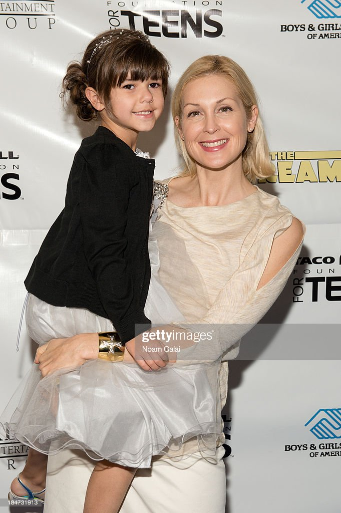 Julianna Williams and actress <a gi-track='captionPersonalityLinkClicked' href=/galleries/search?phrase=Kelly+Rutherford&family=editorial&specificpeople=217987 ng-click='$event.stopPropagation()'>Kelly Rutherford</a> attend the Boys & Girls Clubs of America New York screening of 'The Stream' at Regal Union Square Theatre, Stadium 14 on October 15, 2013 in New York City.