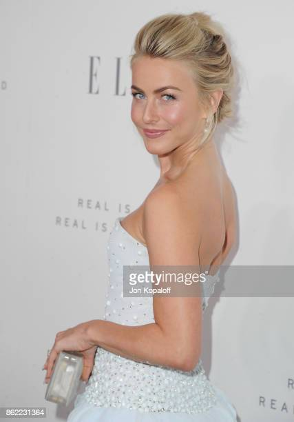 Julianne Hough arrives at ELLE's 24th Annual Women in Hollywood Celebration at Four Seasons Hotel Los Angeles at Beverly Hills on October 16 2017 in...