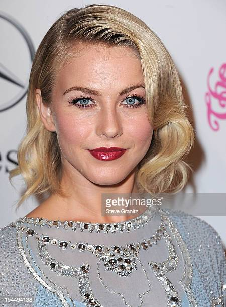 Julianne Hough arrives at the 26th Anniversary Carousel Of Hope Ball at The Beverly Hilton Hotel on October 20 2012 in Beverly Hills California