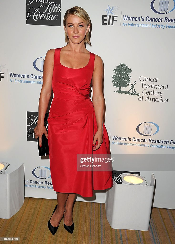 <a gi-track='captionPersonalityLinkClicked' href=/galleries/search?phrase=Julianne+Hough&family=editorial&specificpeople=4237560 ng-click='$event.stopPropagation()'>Julianne Hough</a> arrives at the An Unforgettable Evening Benefiting EIF's Women's Cancer Research Fund at Regent Beverly Wilshire Hotel on May 2, 2013 in Beverly Hills, California.