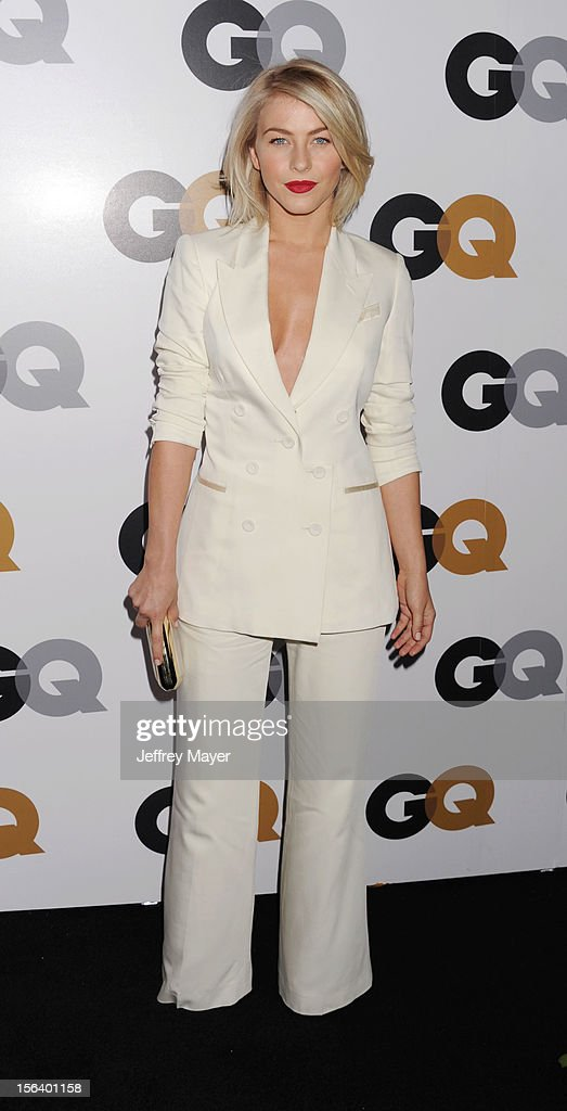 Julianne Hough arrives at the GQ Men Of The Year Party at Chateau Marmont Hotel on November 13, 2012 in Los Angeles, California.