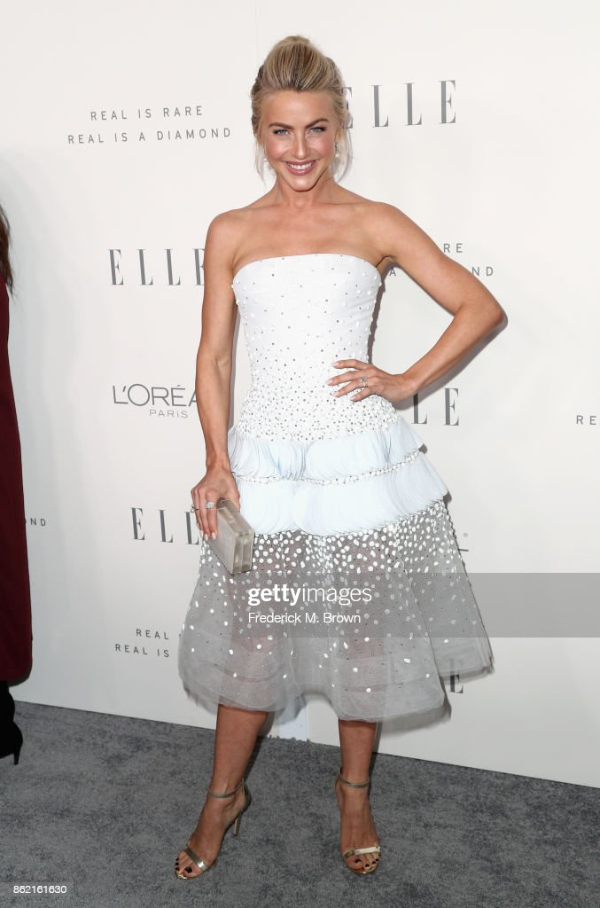 Julianne Hough attends ELLE's 24th Annual Women in Hollywood Celebration at Four Seasons Hotel Los Angeles at Beverly Hills on October 16, 2017 in Los Angeles, California.