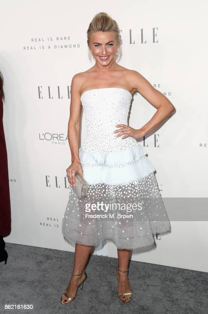 Julianne Hough attends ELLE's 24th Annual Women in Hollywood Celebration at Four Seasons Hotel Los Angeles at Beverly Hills on October 16 2017 in Los...