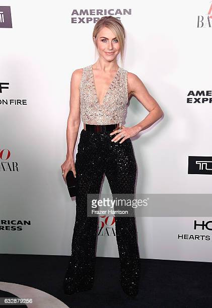 Julianne Hough attends Harper's BAZAAR celebration of the 150 Most Fashionable Women presented by TUMI in partnership with American Express La Perla...