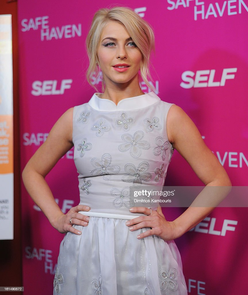 <a gi-track='captionPersonalityLinkClicked' href=/galleries/search?phrase=Julianne+Hough&family=editorial&specificpeople=4237560 ng-click='$event.stopPropagation()'>Julianne Hough</a> attends 'Safe Haven' New York Screening at Sunshine Landmark on February 11, 2013 in New York City.