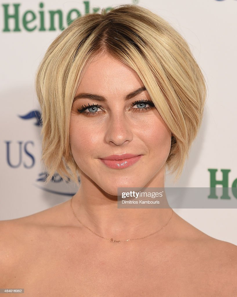 <a gi-track='captionPersonalityLinkClicked' href=/galleries/search?phrase=Julianne+Hough&family=editorial&specificpeople=4237560 ng-click='$event.stopPropagation()'>Julianne Hough</a> attends the 2014 Heineken US Open Kick Off Party at PH-D Rooftop Lounge at Dream Downtown on August 21, 2014 in New York City.