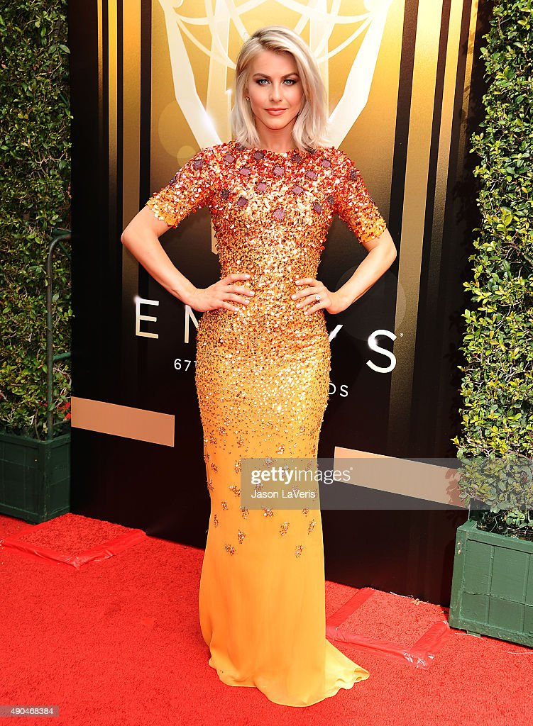 Julianne Hough attends the 2015 Creative Arts Emmy Awards at Microsoft Theater on September 12, 2015 in Los Angeles, California.