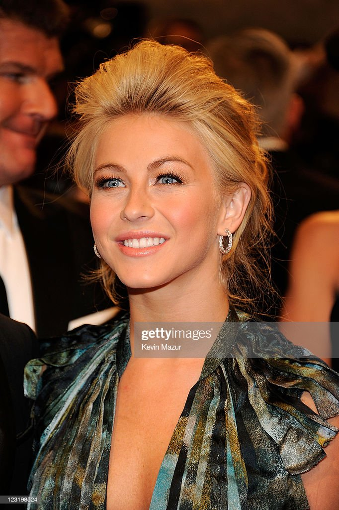 Julianne Hough attends the 'Alexander McQueen: Savage Beauty' Costume Institute Gala at The Metropolitan Museum of Art on May 2, 2011 in New York City.