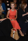 Julianne Hough attends the Carolina Herrera show during Spring 2013 MercedesBenz Fashion Week at The Theatre Lincoln Center on September 10 2012 in...