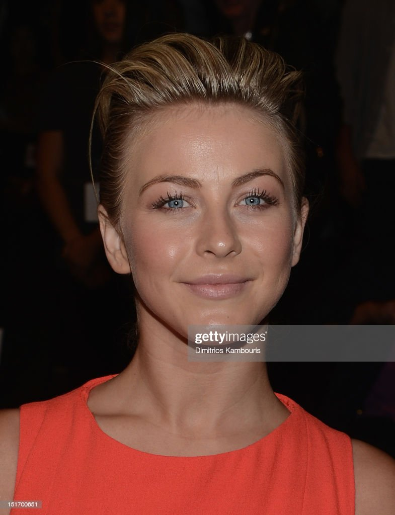 <a gi-track='captionPersonalityLinkClicked' href=/galleries/search?phrase=Julianne+Hough&family=editorial&specificpeople=4237560 ng-click='$event.stopPropagation()'>Julianne Hough</a> attends the Carolina Herrera show during Spring 2013 Mercedes-Benz Fashion Week at The Theatre Lincoln Center on September 10, 2012 in New York City.