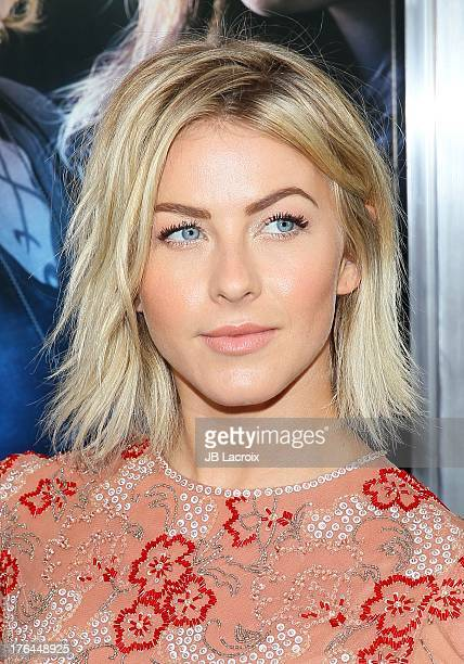 Julianne Hough attends 'The Mortal Instruments City Of Bones' Los Angeles premiere held at ArcLight Cinemas Cinerama Dome on August 12 2013 in...