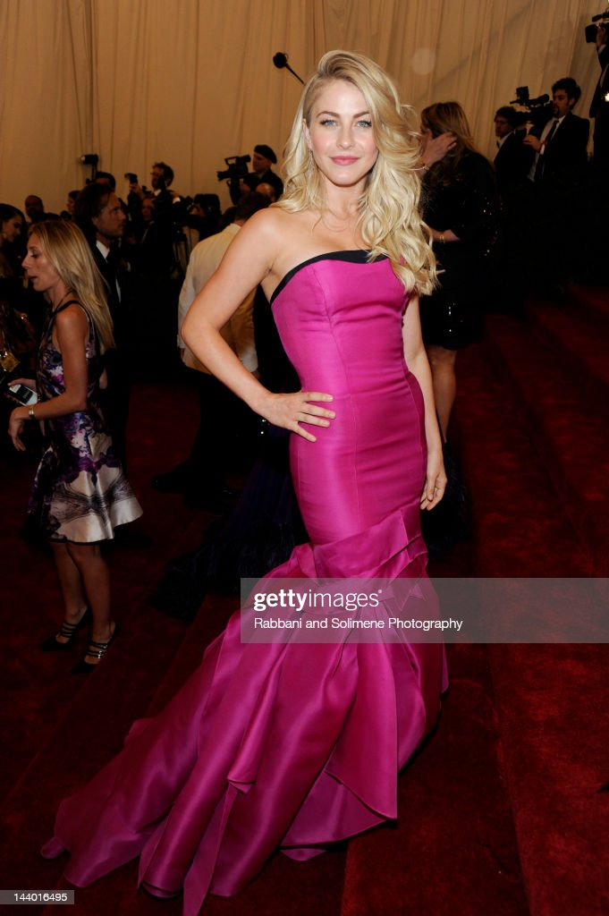 <a gi-track='captionPersonalityLinkClicked' href=/galleries/search?phrase=Julianne+Hough&family=editorial&specificpeople=4237560 ng-click='$event.stopPropagation()'>Julianne Hough</a> attends the 'Schiaparelli And Prada: Impossible Conversations' Costume Institute Gala at the Metropolitan Museum of Art on May 7, 2012 in New York City.