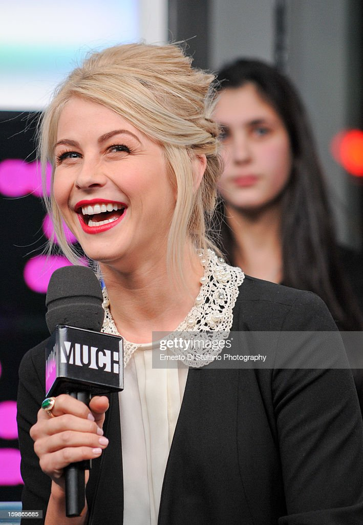 Julianne Hough interview on New.Music.Live at MuchMusic Headquarters on January 21, 2013 in Toronto, Canada.