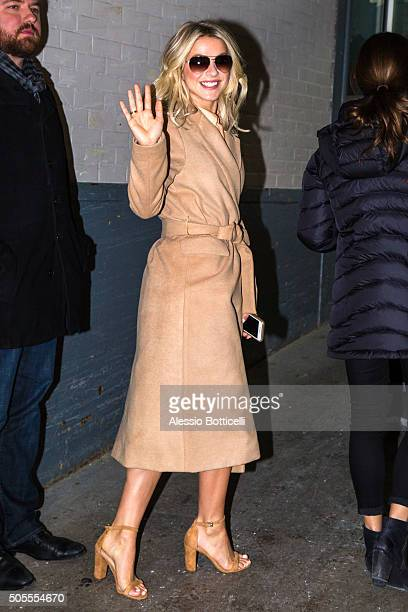 Julianne Hough is seen at AOL Build on January 18 2016 in New York City