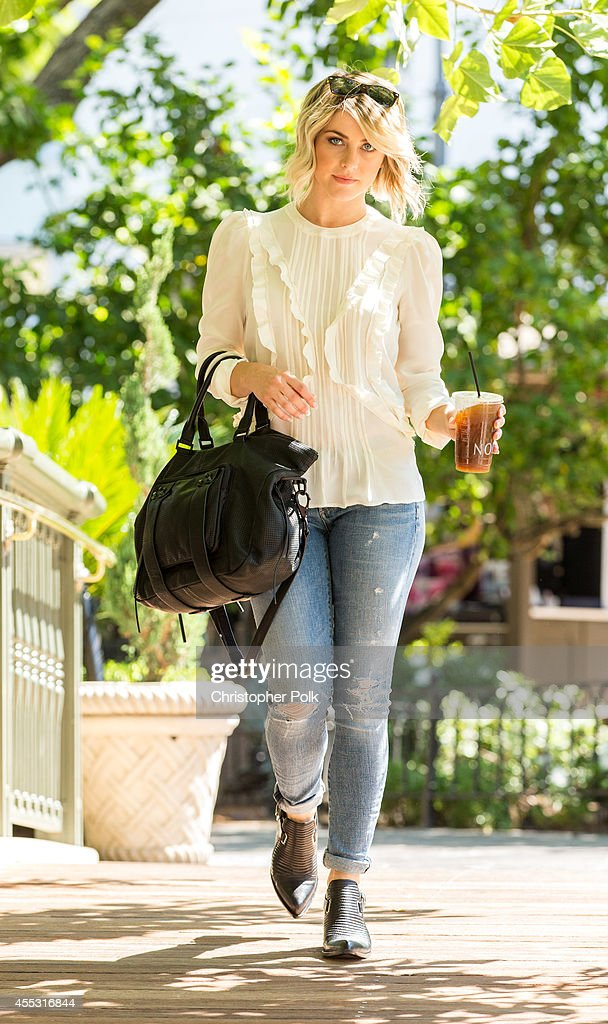 Julianne Hough is seen at The Grove on September 11 2014 in Los Angeles California