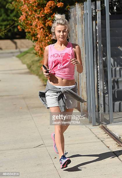 Julianne Hough is seen on February 26 2015 in West Hollywood California
