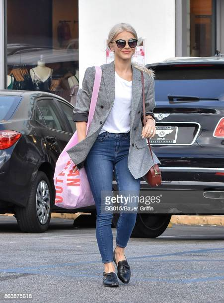 Julianne Hough is seen on October 20 2017 in Los Angeles California