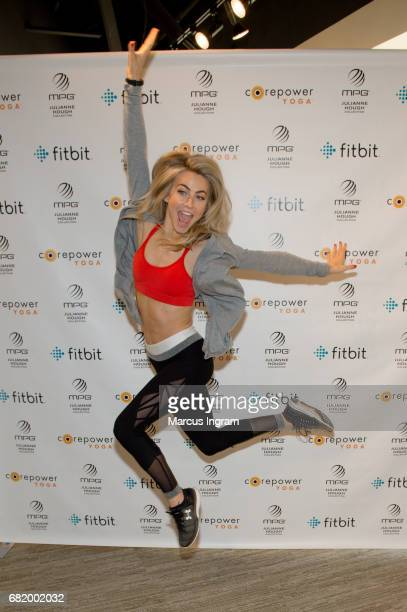 Julianne Hough MPG Sport Brand Ambassador Designer and CorePower Yoga Partner to bring free class to Atlanta and promote the launch of her Athleisure...