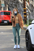 Celebrity Sightings In Los Angeles - January 19, 2021
