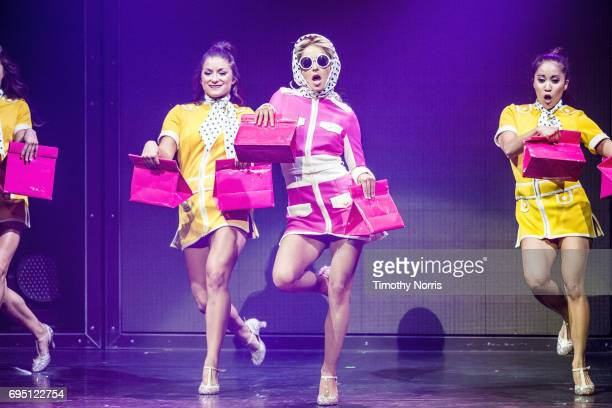 Julianne Hough performs during Julianne and Derek Hough Move Beyond Live at Microsoft Theater on June 11 2017 in Los Angeles California