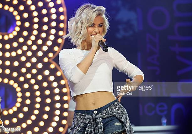 Julianne Hough performs onstage during the Lip Sync Battle LIVE At SummerStage In New York on July 13 2015 in New York City