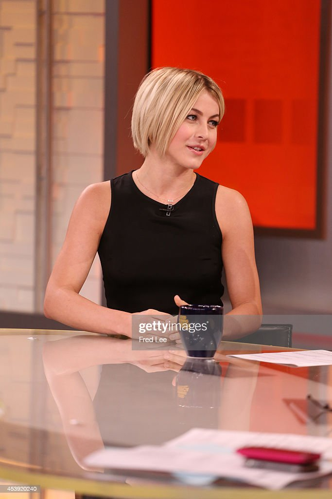 AMERICA - Julianne Hough was announced as a fourth judge on this season of 'Dancing with the Stars' on 'Good Morning America,' 8/21/14, airing on the ABC Television Network. JULIANNE