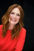 Julianne Moore at the 'Map To The Stars' Press Conference at Trump International Hotel Tower on September 9 2014 in Toronto Ontario